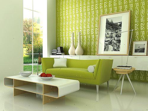 Elegant stue: gøre en stor stue føler hyggeligt