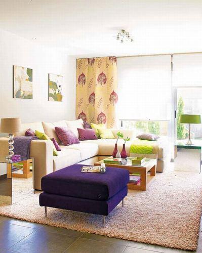 Hvordan til at designe en moderne stue
