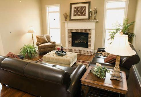 Hvordan til at dekorere din stue med lamper