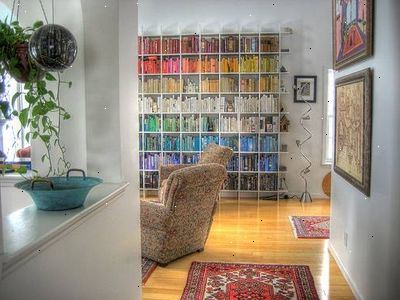 Hvordan til at dekorere en bogreol